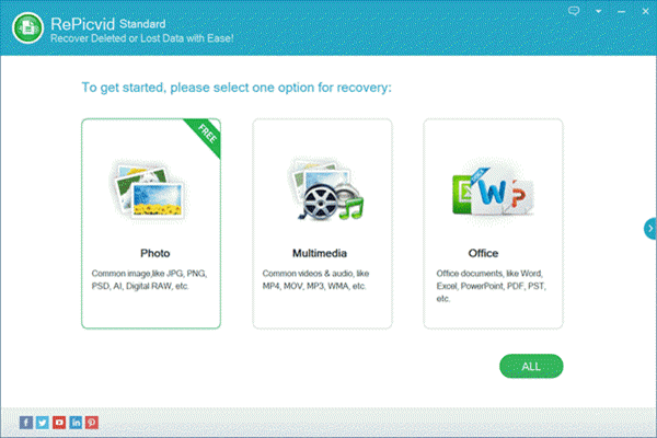 RePicvid Standard Data Recovery