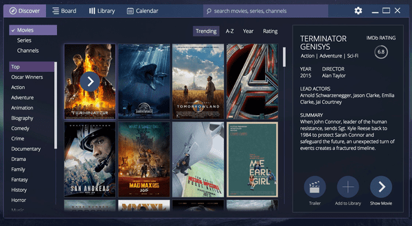 Stremio is one of the top alternatives websites to LeonFlix.