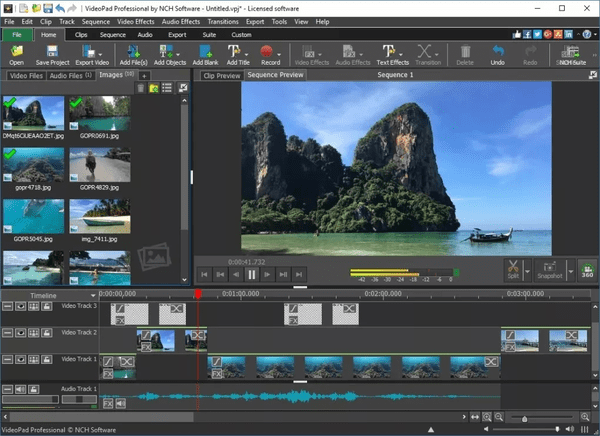 VideoPad Video Editor is one of the top alternatives to iMovie for Windows.