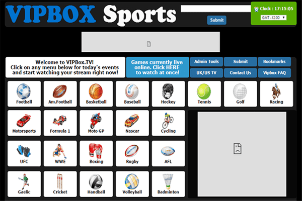 VIPBox is another website like Cricfree which additionally gives you sports on the web.