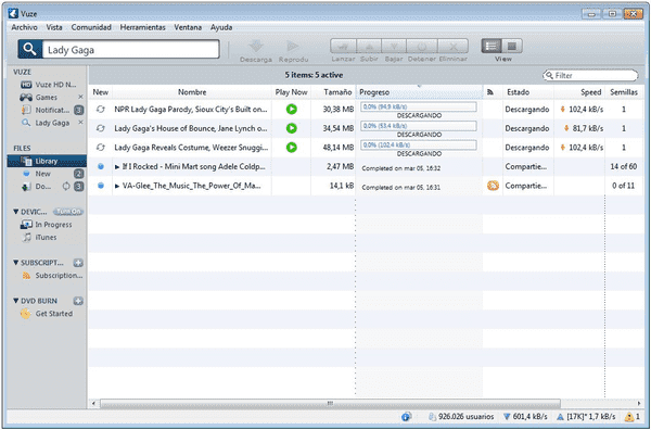 Vuze is a popular torrent client software that you can use in place of uTorrent.