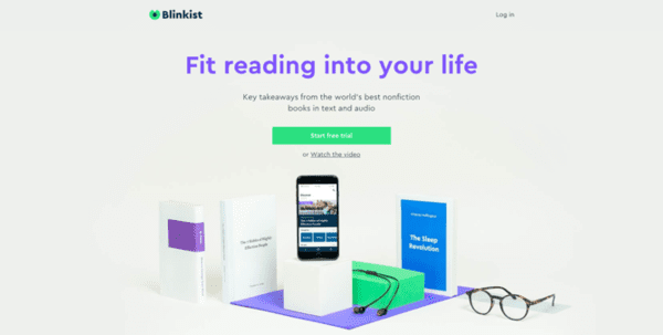 Blinklist website is another trendy choice among the users who are e-book enthusiasts.