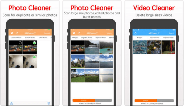 The Clean Doctor app is one of the best cleaner app using which you can manage your iPhone or iPad.