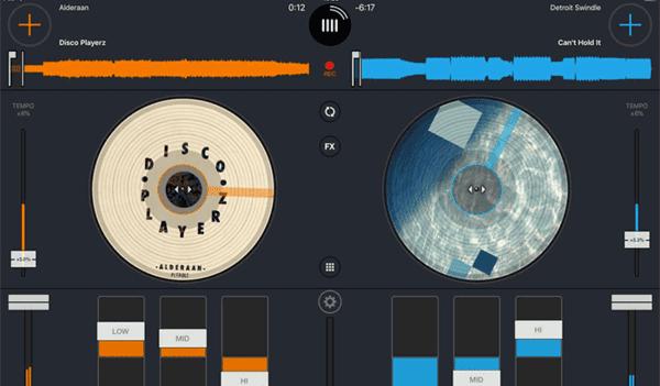 Cross DJ is probably one of the few DJ apps