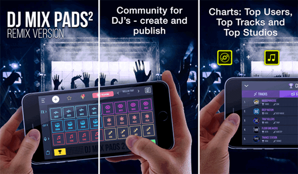 Look no more because the DJ Mix Pads 2 app for iPhone and iPads are here to change the game.