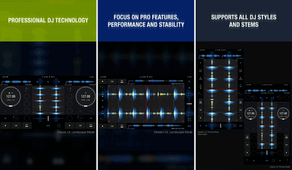 Looking for a free DJ app that is compatible with iPhone, iPad and iPod touch