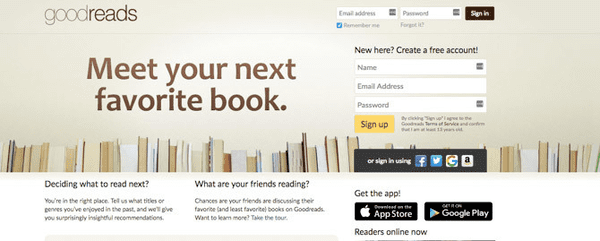 This Amazon owned specialized e-book providing website is yet another very awesome choice for all the e-books readers.