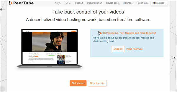 PeerTube is another very fascinating choice for users who are looking to get alternates of YouTube.