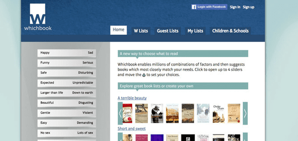 WhichBook is a kind of website which is pretty much specialized and popular in offering premium kinds of e-books to the users.