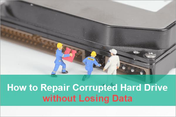 Fix Corrupted External/Internal Hard Drive