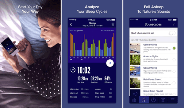 You can be assured that you will improve your sleep quality with this app.