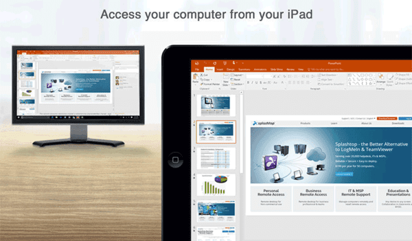 Access your MAC or Windows PC with ease anytime, anywhere.