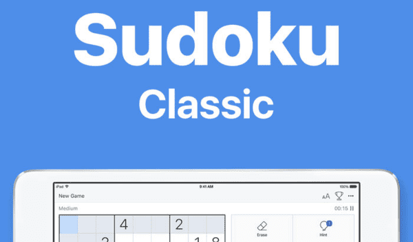 The Sudoku Classic for iPhone and iPad is a much-loved game.