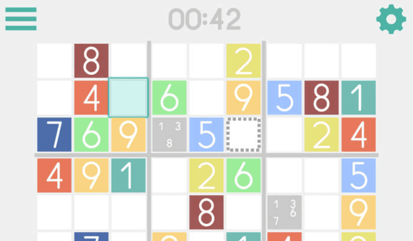 The game Sudoku Free is amongst the most played games of Sudoku.