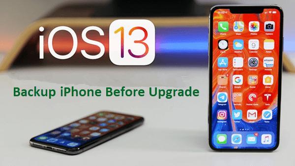 Backup iPhone/iPad Before Upgrading to iOS 13