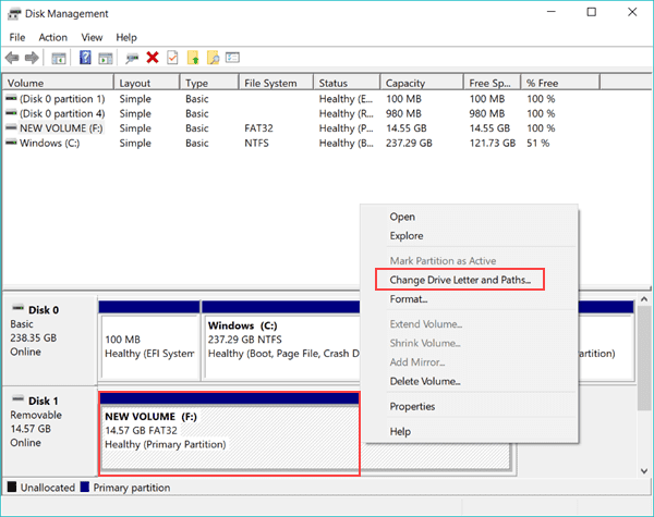 Assign a Drive Letter to the Corrupted SD Card