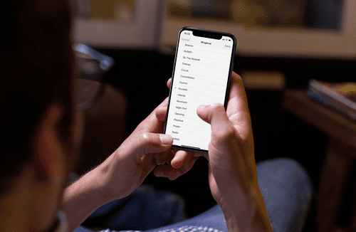 Custom text alerts