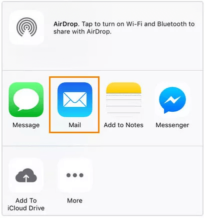 Export WhatsApp Chat History on iPhone to Computer via Email
