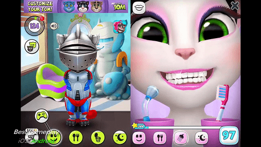 My Talking Angela is the perfect game for you is live kittens.