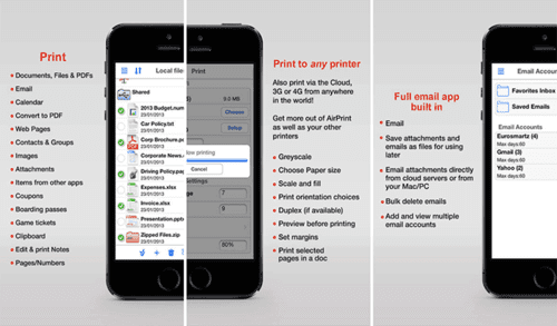 Print n Share is one of the most convenient apps on the market for printing.