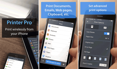 Printer Pro is one of the best printing apps because of two things.
