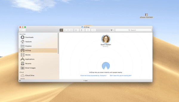 How to AirDrop on Mac, iPhone and iPad