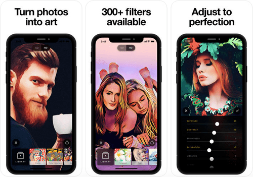 Prisma is one of the most talked and favorite app for the cartoon yourself feature.