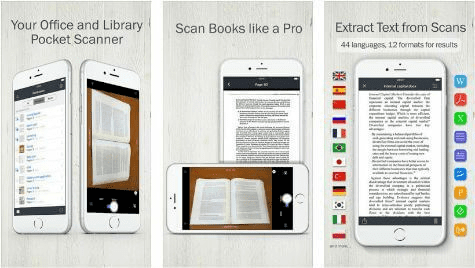 This powerful and premium OCR app for iOS is another very impressive solution for the iOS users