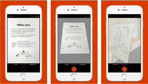 Office Lens is another very popular iOS OCR app for the users
