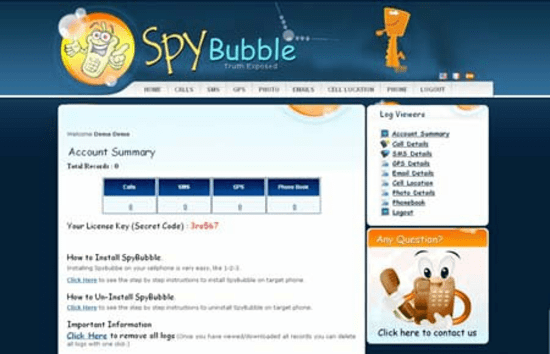 SpyBubble is another one-stop solution for users to hack into someone's WhatsApp and Instagram account in one go.