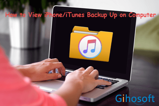 View iPhone Backup Files on Computer