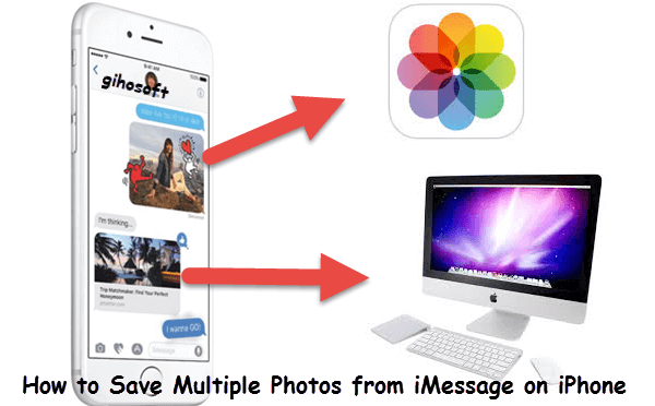 Save Multiple/All Photos from iMessage on iPhone.