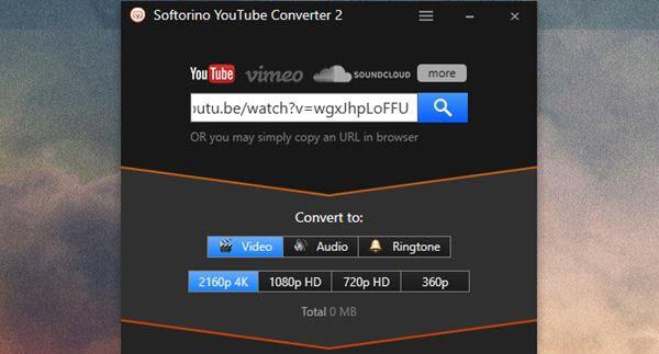 Softorino YouTube Converter HD Portable