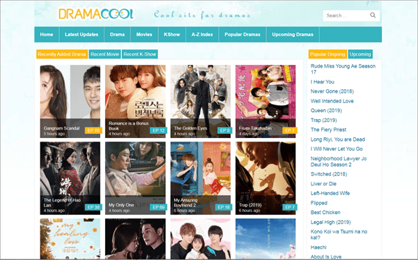 DramaCool is undoubtedly one of the coolest websites providing Korean and Japanese dramas series.