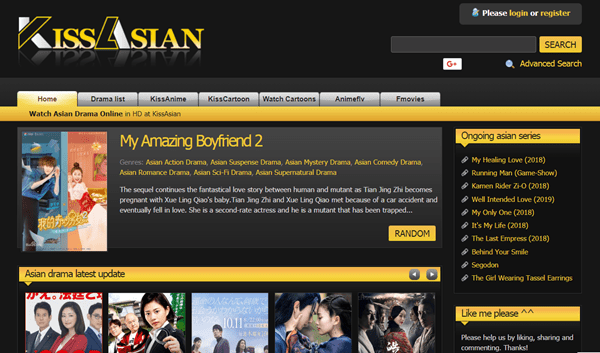 Korean dramas are very frequently added on this website.