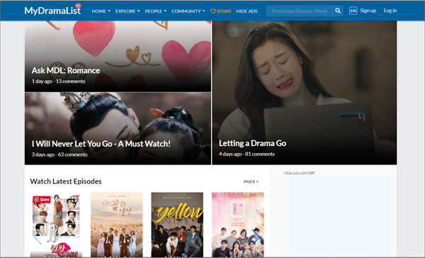 MyDramaList is purely dedicated to enabling you to watch online and download Korean dramas for free.