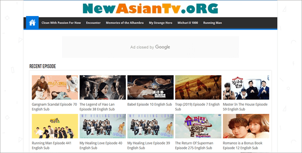 NewAsianTv is another very popular website for you to download Korean drama.