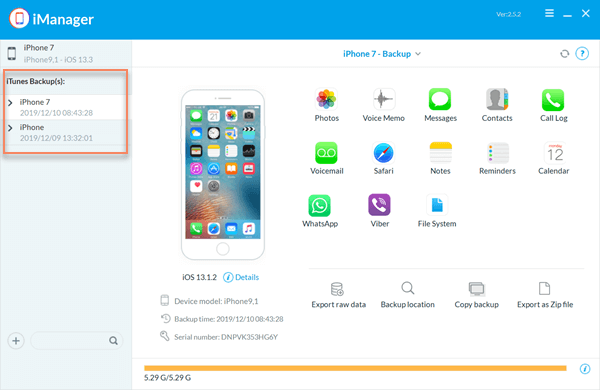 Restore iPhone without iTunes using Gihosoft iPhone Manager