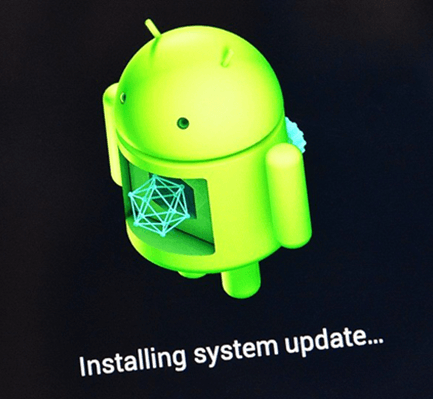 Upgrade Current Android Version to Android 10.
