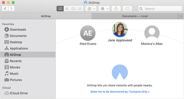 Where Do AirDrop Files Go on Mac.