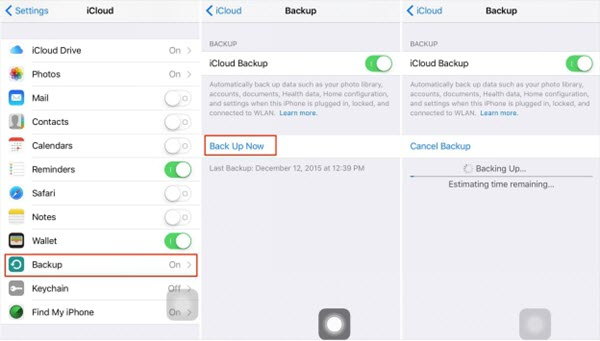 How Long Does iCloud Backup Take