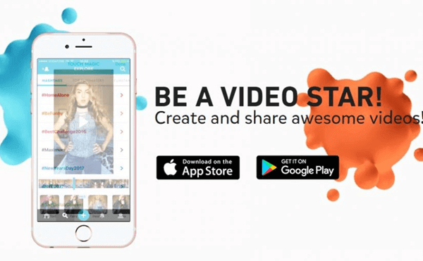 Funimate is an interesting video stitcher app that can be used to join two videos.