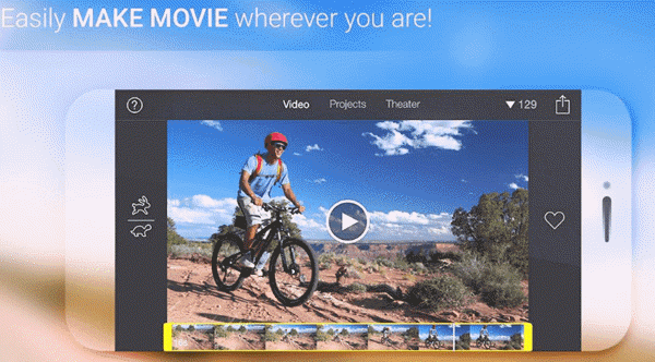 iMovie is an elegant app that makes basic video editing a breeze.