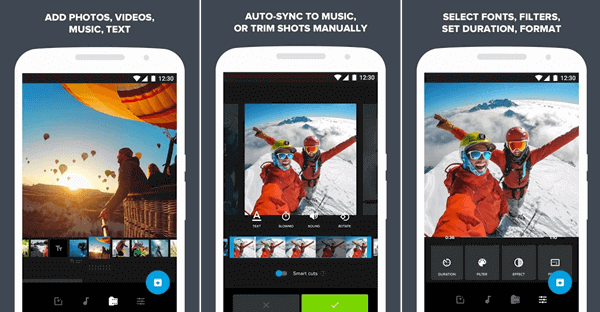 If you want to join multiple videos quickly, you must use Quik which is available for both Android and iOS users.