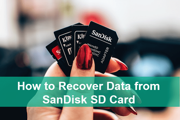 SanDisk Data Recovery Software.