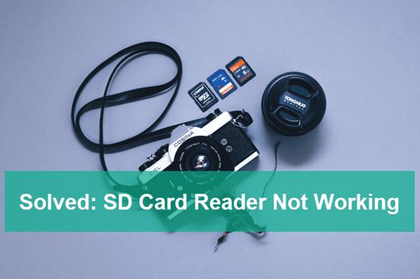 Fix SD Card Reader Not Working.