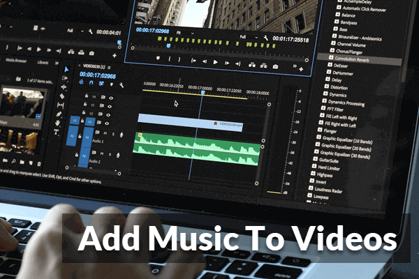 Add Background Music to Video.