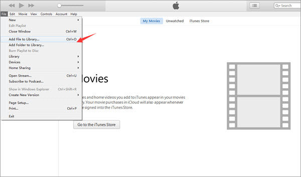 Transfer Videos from Computer to iPhone with iTunes.