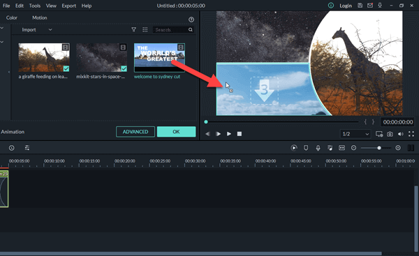 Merge Multiple Videos on One Screen with Filmora9