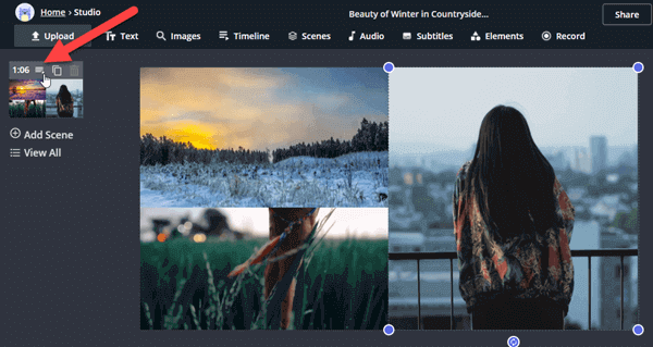 Make a Split Screen Video Online with Kapwing